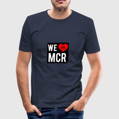 We are Manchester 2 - Men's Slim Fit T-Shirt