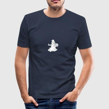 Tramp Snowman - Slim Fit T-shirt herr