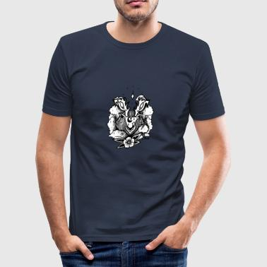 Thundeer - Rosi - Männer Slim Fit T-Shirt