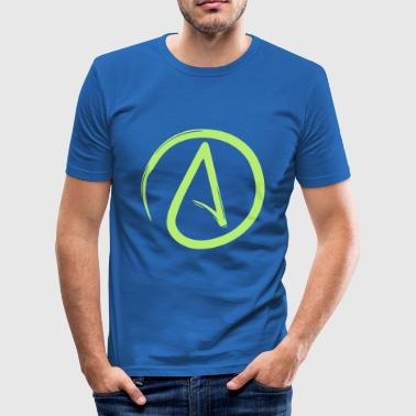 Atheist - Männer Slim Fit T-Shirt