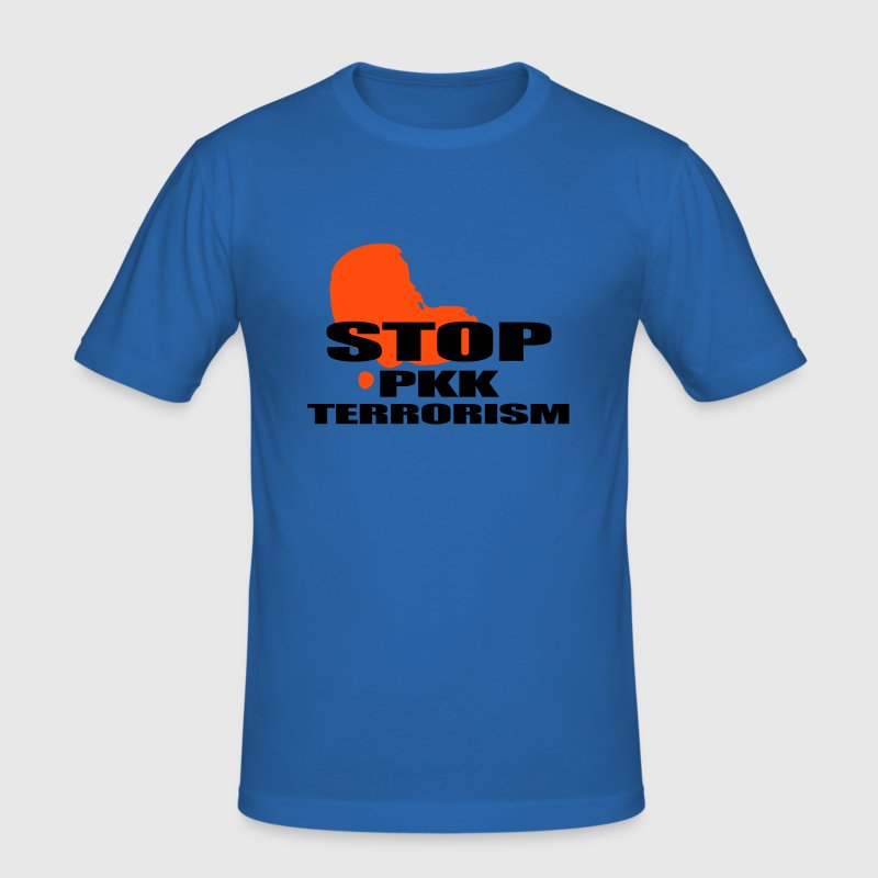 stop PKK - Slim Fit T-shirt herr