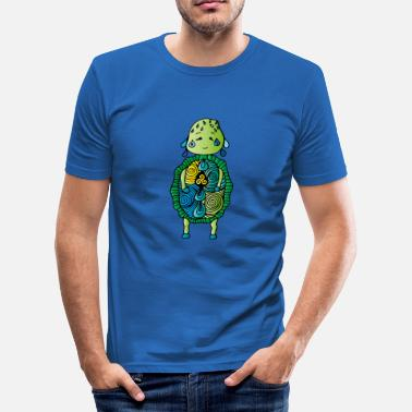 Protector IBI - Protector of Udus - Herre Slim Fit T-Shirt
