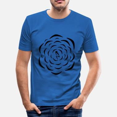 Cent center man - Slim Fit T-shirt herr