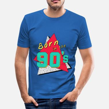 Born In 90' Born in the 90's - T-shirt près du corps Homme