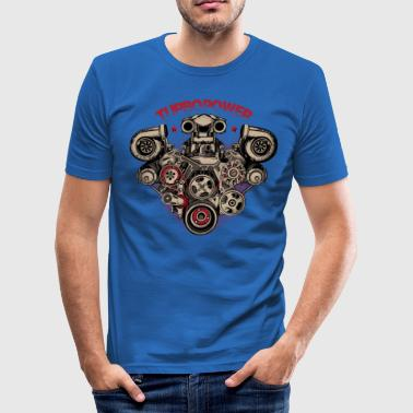 Turbo-Power - Männer Slim Fit T-Shirt