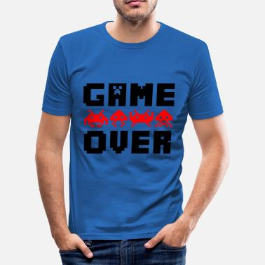 Game Over game over - Men's Slim Fit T-Shirt