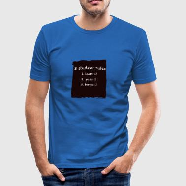 Rules - Männer Slim Fit T-Shirt