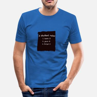 Creative Clothes Rules - Men's Slim Fit T-Shirt