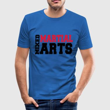 Mixed Martial Arts - Slim Fit T-shirt herr