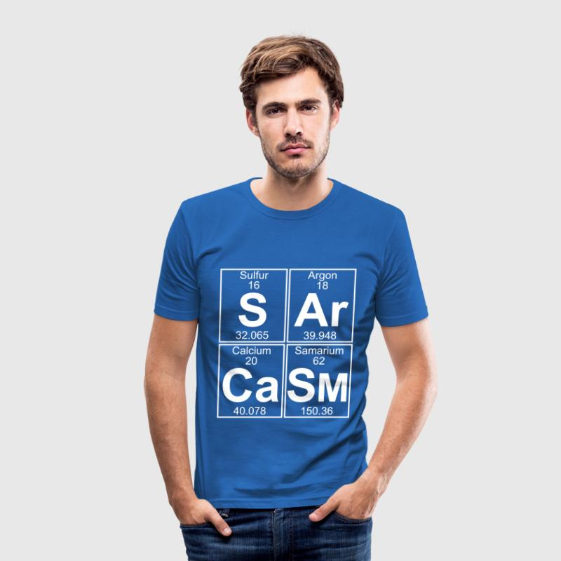 S-Ar-Ca-Sm (sarcasm) - Full - slim fit T-shirt