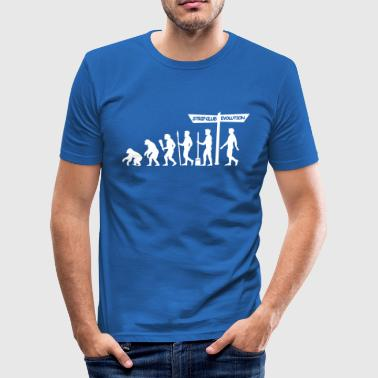 Evolution - Stag Night - Men's Slim Fit T-Shirt