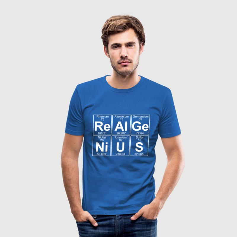 Re-Al-Ge-Ni-U-S (real genius) - Full - T-shirt près du corps Homme