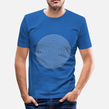 Hypnotic Spiral spiral - Men's Slim Fit T-Shirt