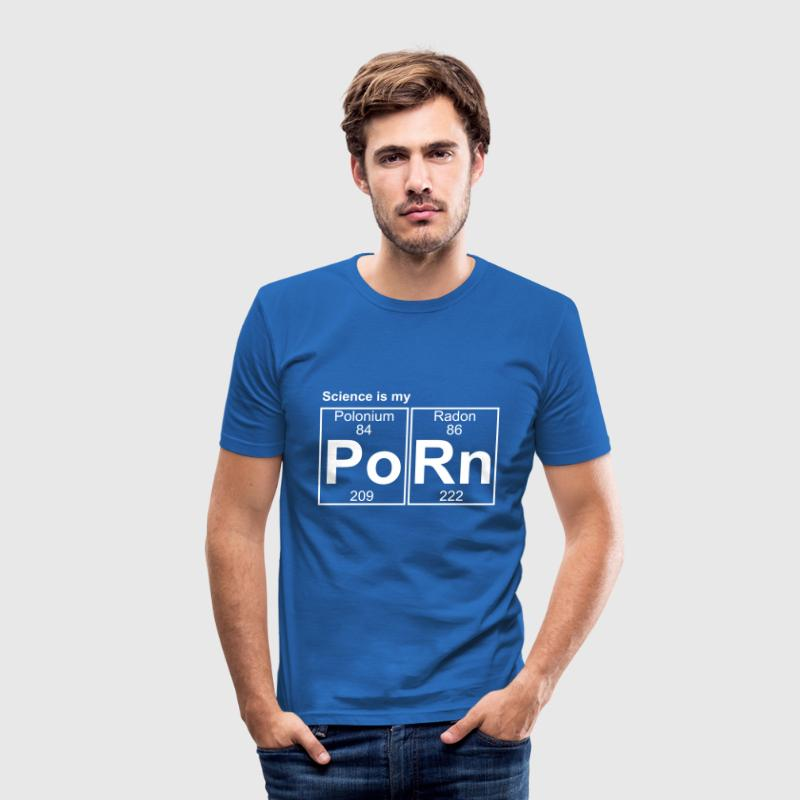Po-Rn (porn) - Full - Men's Slim Fit T-Shirt