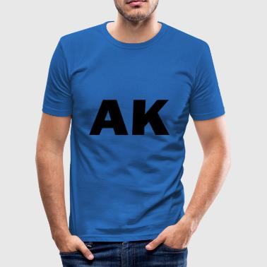 AK - Men's Slim Fit T-Shirt