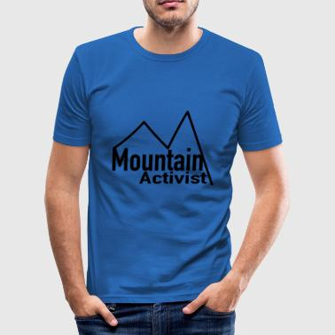 Mountain Activist - Männer Slim Fit T-Shirt