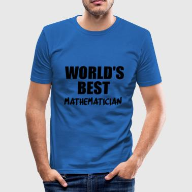 matte - Slim Fit T-shirt herr