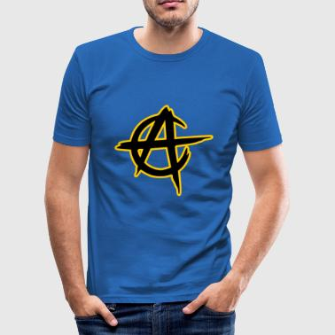 State Capital anarcho capitalism - Men's Slim Fit T-Shirt