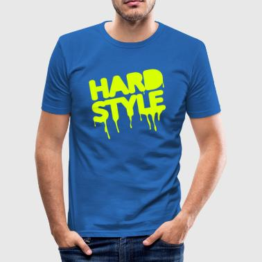 hardstyle / techno / jumpstyle - Herre Slim Fit T-Shirt
