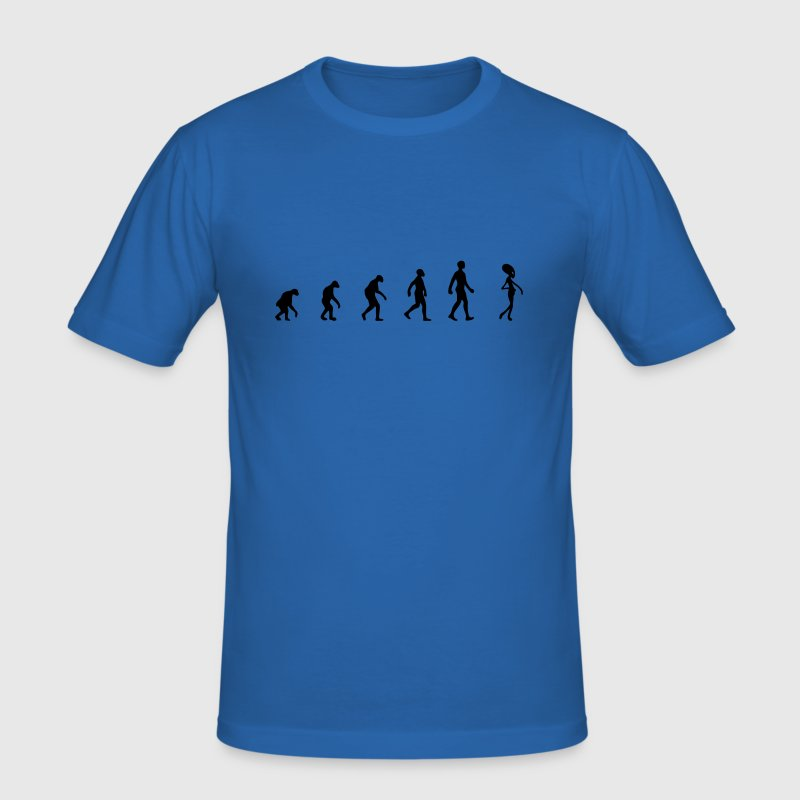 alien evolution - T-shirt près du corps Homme