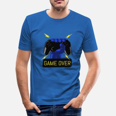 Ordinateur Game Over Game Over - T-shirt près du corps Homme