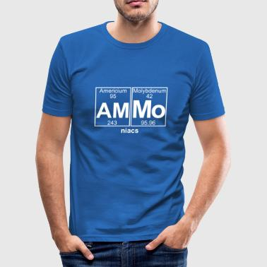 Am-(Munition) - Full - Männer Slim Fit T-Shirt