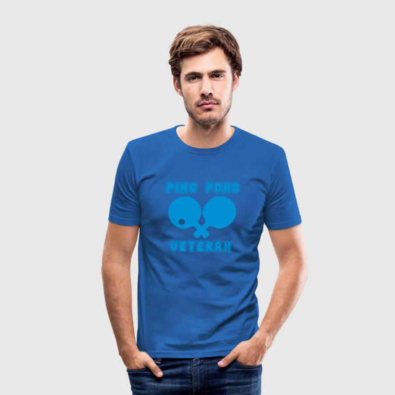 PING PONG VETERAN - Men's Slim Fit T-Shirt