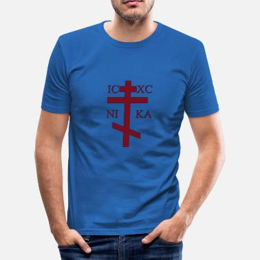 Ortodox Ortodoxa Cruz 6 - Slim Fit T-shirt herr