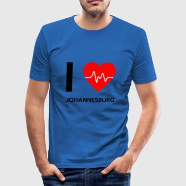 I Love Johannesburg - I Love Johannesburg - Men's Slim Fit T-Shirt