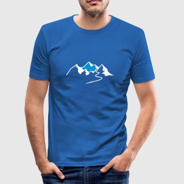 Ski Tour  - Männer Slim Fit T-Shirt