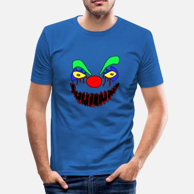 Scary Clowns scary clown - Men's Slim Fit T-Shirt