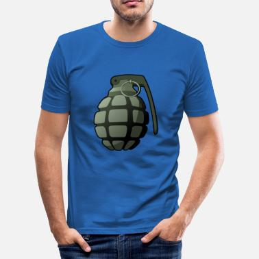 Hand Grenade hand grenade - Men's Slim Fit T-Shirt