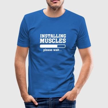 Installing Muscles - Slim Fit T-shirt herr