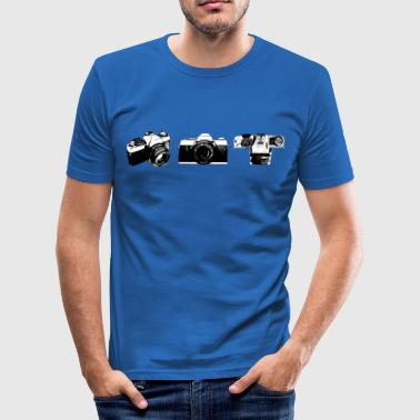 Camera Analog 3 views - slim fit T-shirt
