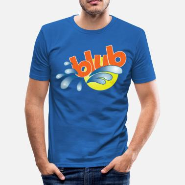 Blub - Men's Slim Fit T-Shirt