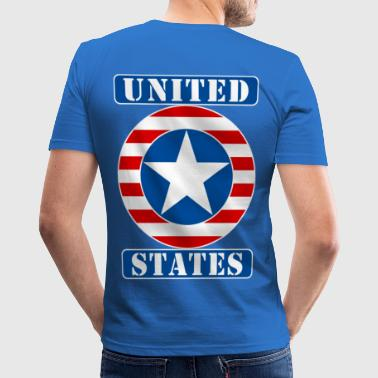 United States - Männer Slim Fit T-Shirt