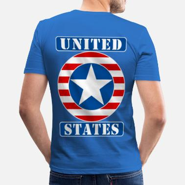 United United States - Männer Slim Fit T-Shirt