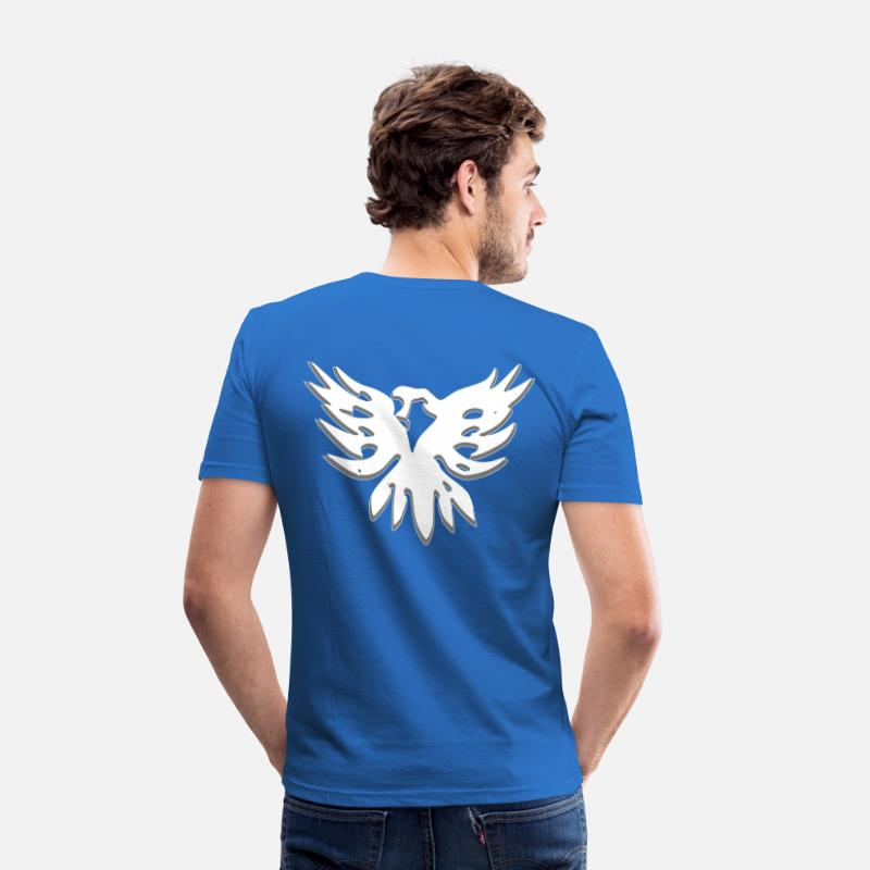 Ertugrul T-Shirts - Kartal KAYI - Men's Slim Fit T-Shirt royal blue