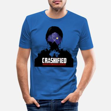 Crashified — Hoodie - T-shirt moulant Homme