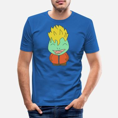 série fan anime cartoon - T-shirt moulant Homme