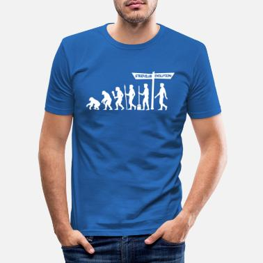Party Evolution - Stag Night - Men's Slim Fit T-Shirt