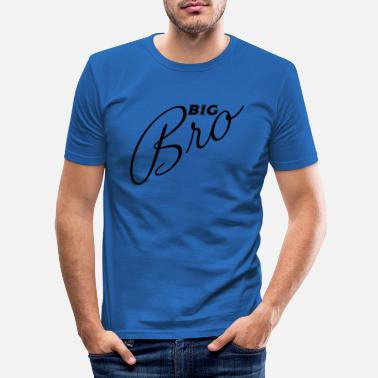 Big bro - Männer Slim Fit T-Shirt
