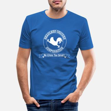 Mismanagement Headless Chicken Corporation - Men's Slim Fit T-Shirt