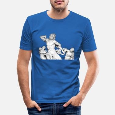 Laocoon Group Tumblr Gothic Aesthetic T-Shirt - Maglietta slim fit uomo