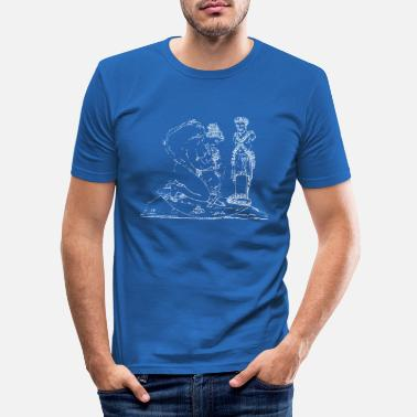 Satyr young satyr - Men's Slim Fit T-Shirt