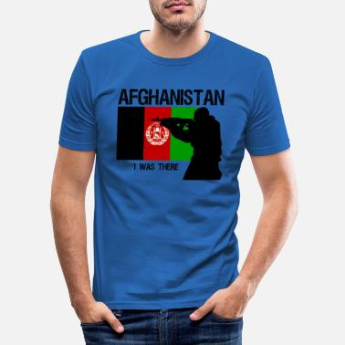 Military Afghanistan - Men's Slim Fit T-Shirt