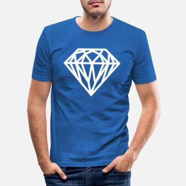 Diamant Diamant - Männer Slim Fit T-Shirt