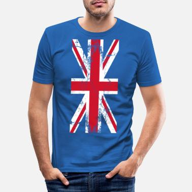 Uk UK UK UK Flag Flag Union Jack - Slim fit T-shirt mænd