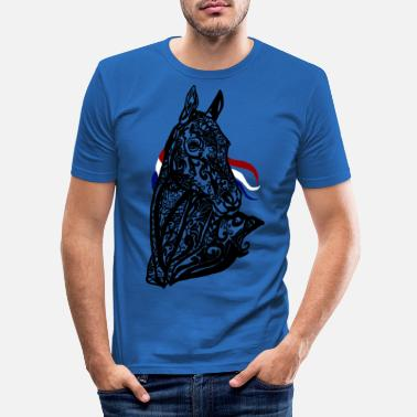Tatoo cheval - T-shirt moulant Homme