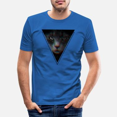 Chat Noir - T-shirt moulant Homme